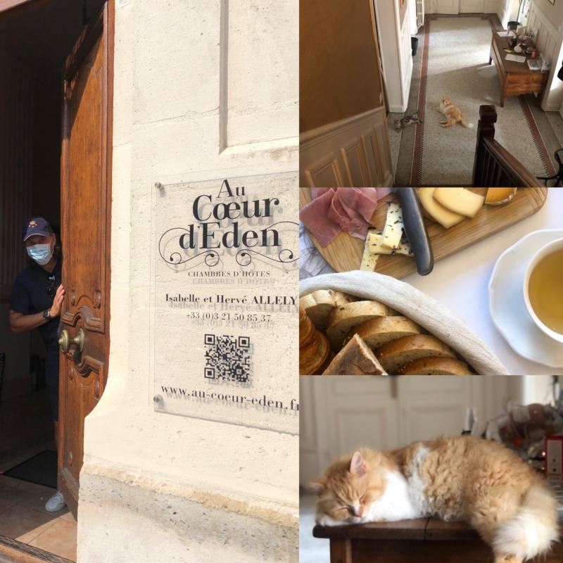Au Caeur d'Eden er et meget hyggeligt og personligt lille hotel i Arras