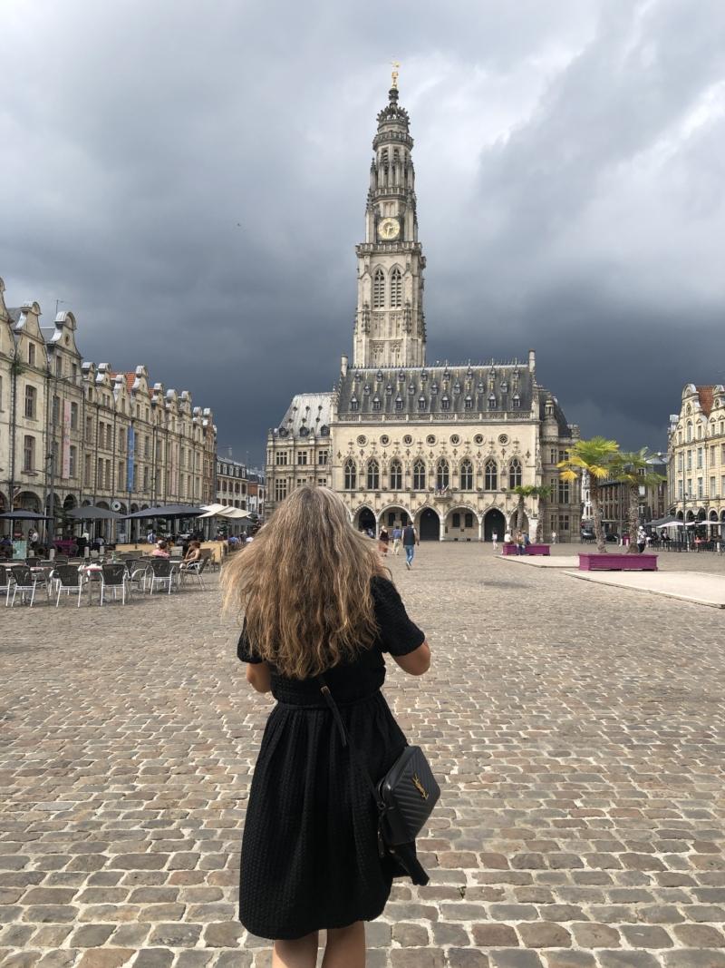 Place des heros i Arras, Pas-de-Calais
